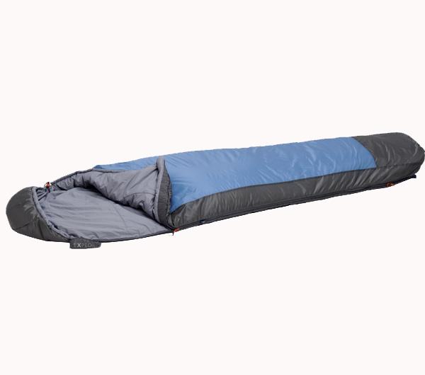 Im BERGSTEIGER Test 04/2015: EXPED Comfort Syn 233 Kunstfaser Schlafsack