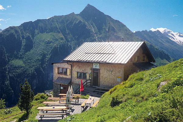 Einladend: die Gamshütte im Zillertal