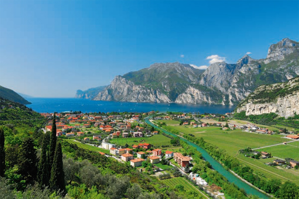 Die Via ferrata Che Guevara ist einer der schönsten Klettersteige am Gardasee
