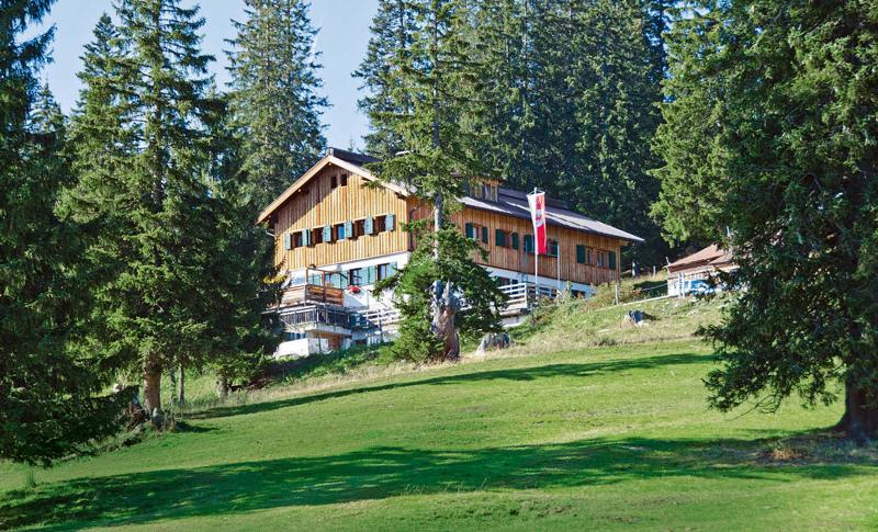 Kulinarische Empfehlung vom Gourmet: die Gufferthütte über Steinberg im Rofan