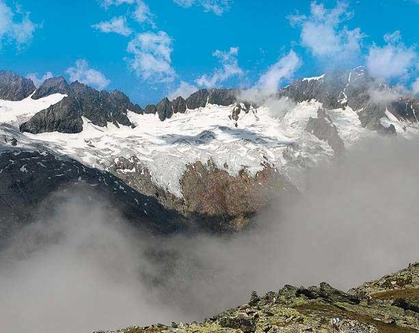 Immer wieder ein Blickfang: das Sustenhorn