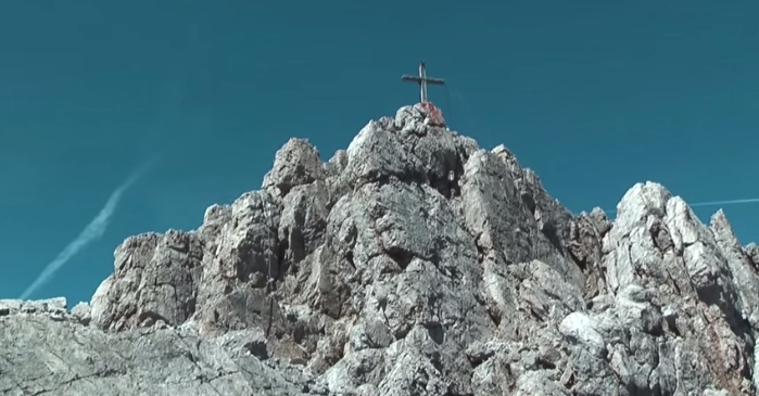 Das Gipfelkreuz am Maldonkopf (2632m)