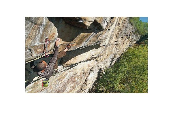 Kai entwickelte sich rasant vom Kletteranfänger zum Alpinkletterer
