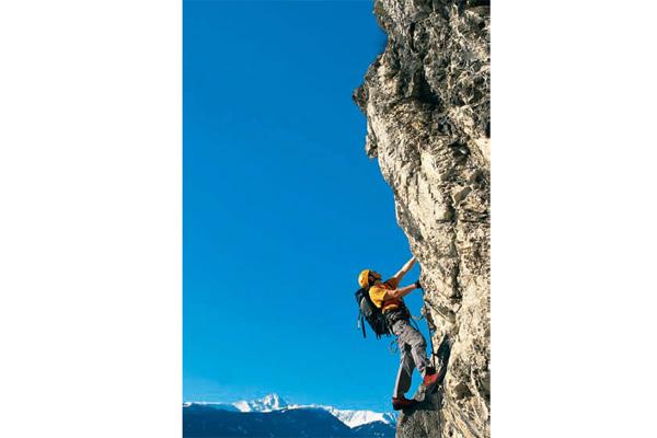 Klettersteig Wilder Kaiser : Kaiser max klettersteig im karwendel bergsteiger magazin