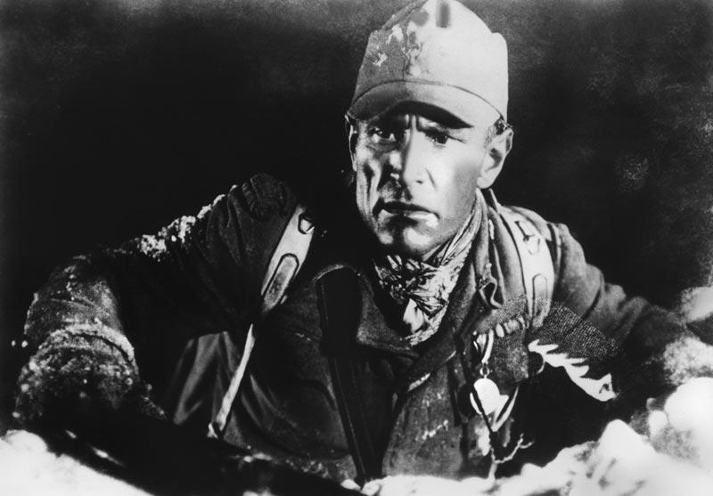 Der Film »Berge in Flammen« basiert auf den Erfahrungen aus dem Gebirgskrieg.