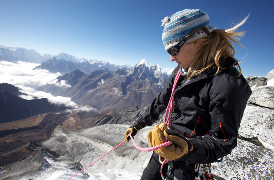Melissa Arnot stand bereits fünf Mal auf dem Mount Everest