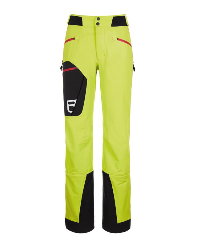 Im BERGSTEIGER Test 03/2015: ORTOVOX Naturetec Pants Bacun Skitourenhose
