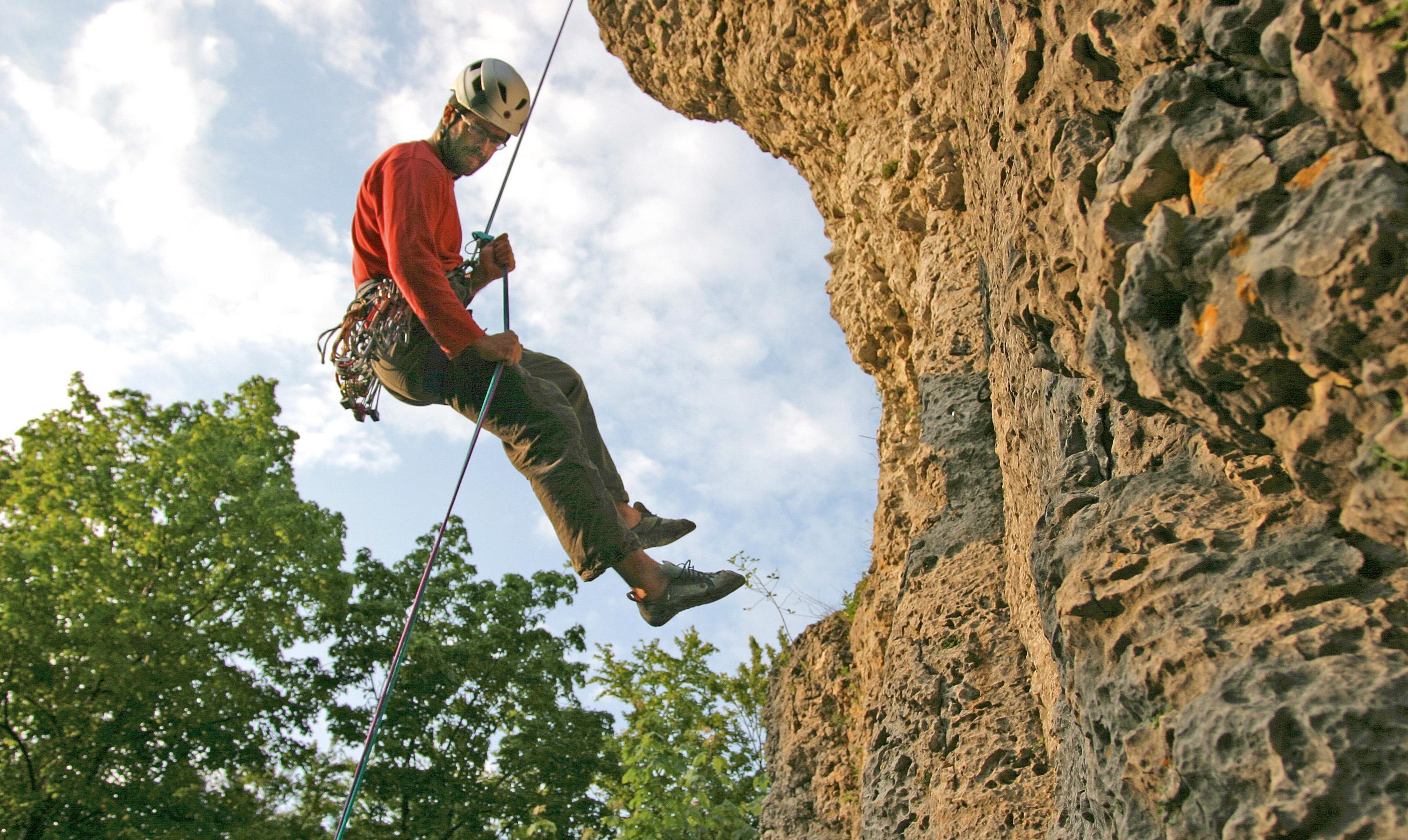 Klettersteigset Richtig Einhängen : Richtig anseilen bergsteiger magazin