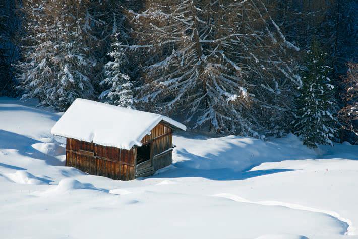 Schneeschuhwandern am Schafjoch im Ötztal