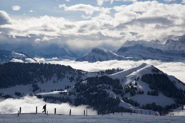 Schneeschuhtouren an der Rigi