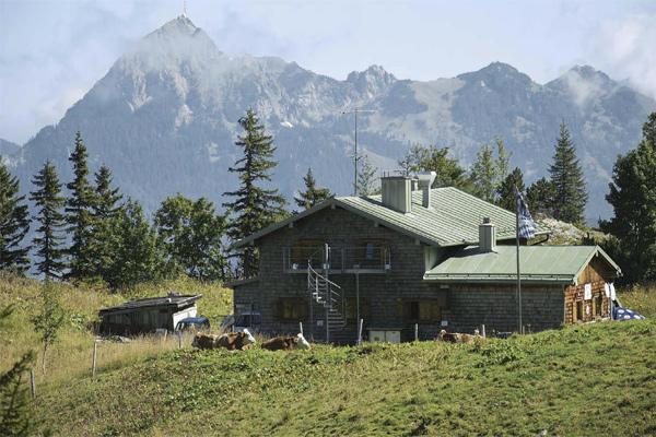 Sichere Sache: Das Taubensteinhaus bietet auch im November und Dezember Schutz und Wärme für Wanderer.