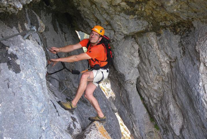 Klettersteigset Leihen Oberstdorf : Klettersteig am tegelberg bergsteiger magazin