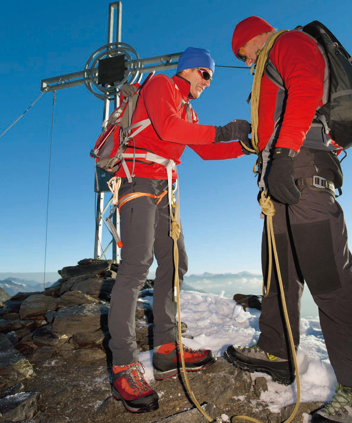 Keine Hängepartie: Der Bergsteiger Klettergurt Test