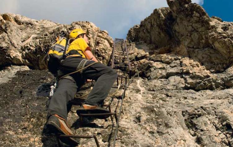 Klettersteigset Unterschiedlich Lang : Klettersteig schuhe bergsteiger magazin