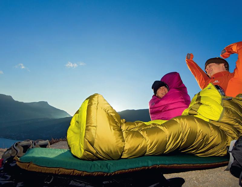 Im BERGSTEIGER Test 10/2010: Kunstfaserschlafsäcke