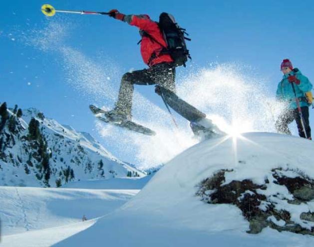 Spaß im Watschelschritt - Schneeschuhe im Test