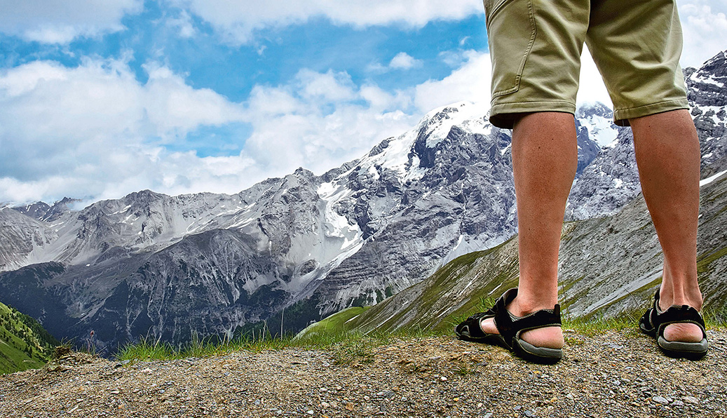 12 Trekkingsandalen im Test