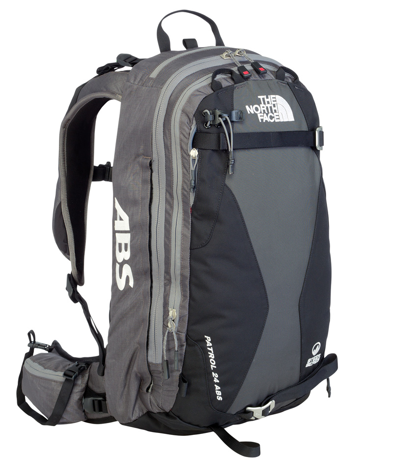 Im BERGSTEIGER Test 01/2015: THE NORTH FACE Patrol 24 ABS Lawinenrucksack