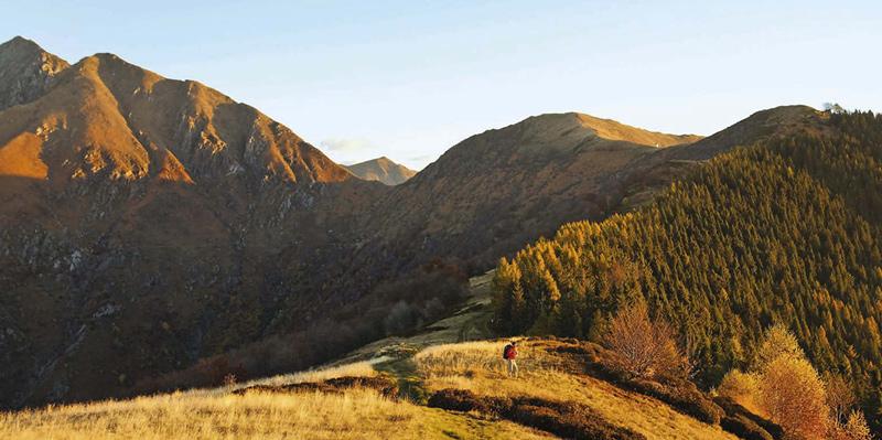 Höhenwege und Trekkinggipfel im Val Grande