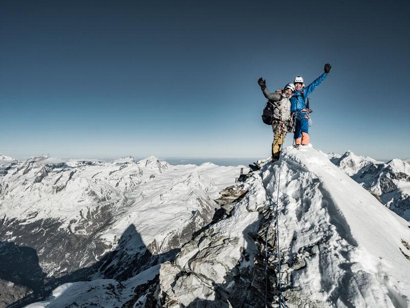 Wieder ein neues Matterhorn-Kapitel: Alexander Huber und Dani Arnold