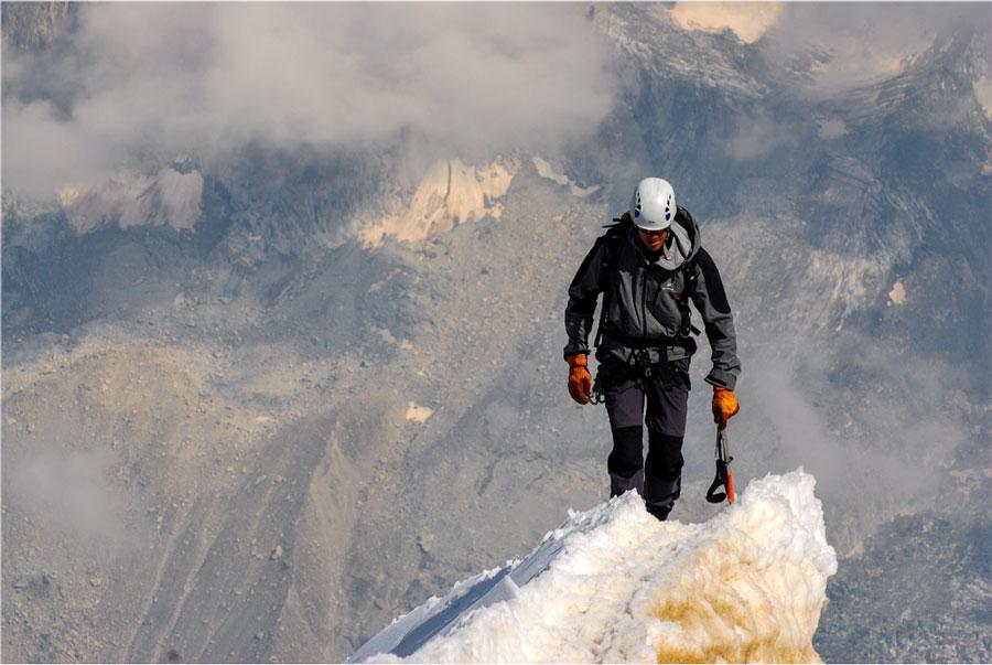 Pure Freiheit genießen – Bergsteigen ist etwas Besonderes.