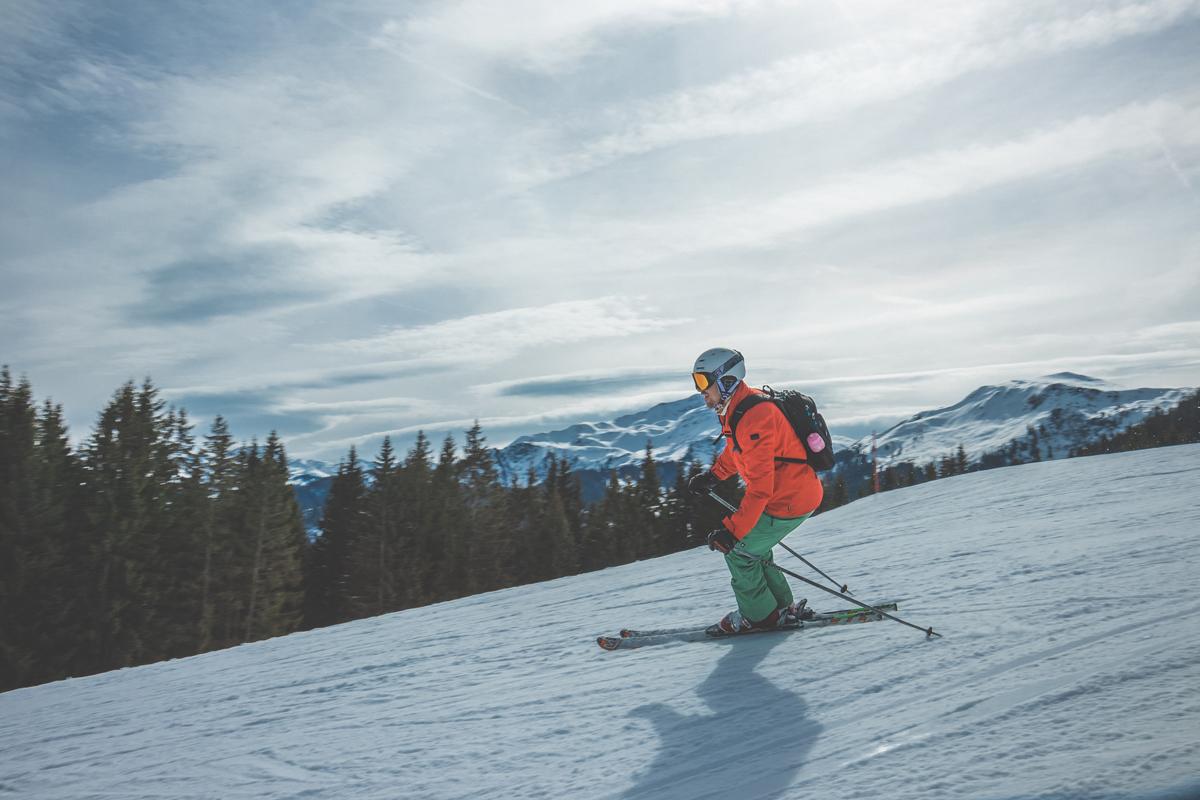 Skifahren als Freizeitsport