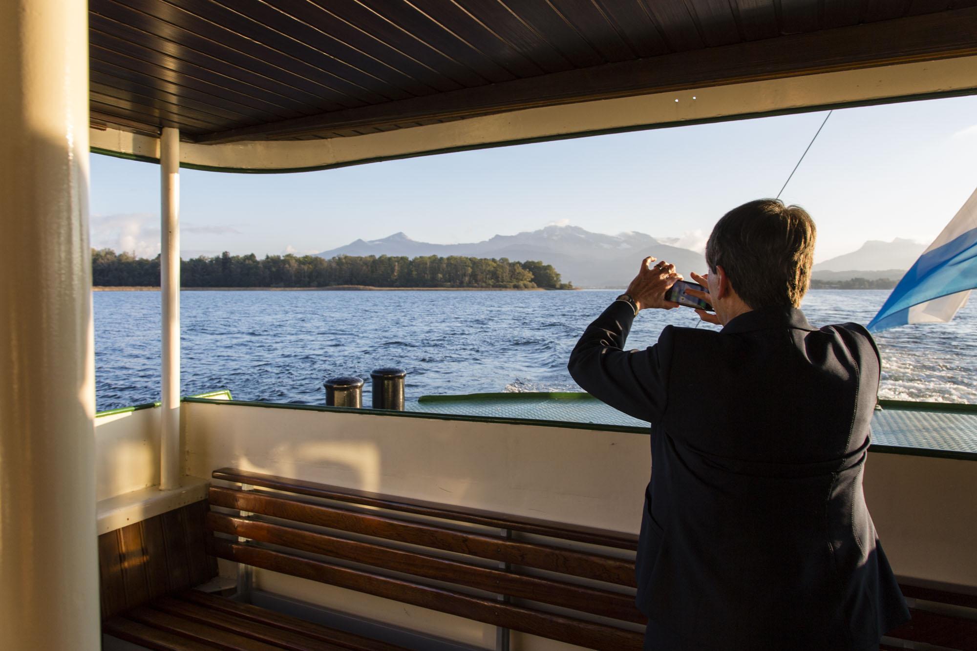Diese Landschaft möchte sie bewahren: Bundesumweltministerin Barbara Hendricks.
