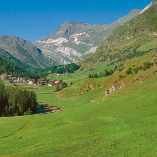 Das Pferderer Tal wird von der Hohen Wilde dominiert; Foto: Franziska Baumann