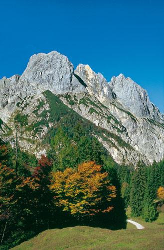 Die verschiedenen Gesichter der Berchtesgadener Alpen: die Mühlsturzhörner in der Reiteralm (Foto: Mark Zahel)