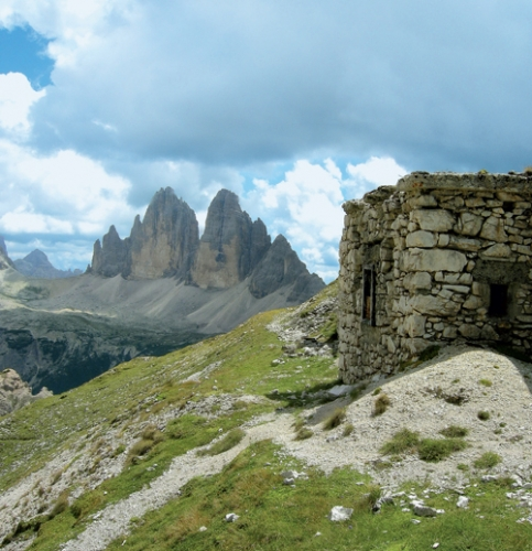 Am Südgrat des Rautkopfs befand sich ein österreichischer Beobachtungsposten