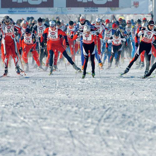 Start zum »Koasalauf«: Österreichs größte Sportveranstaltung beginnt und endet in St. Johann