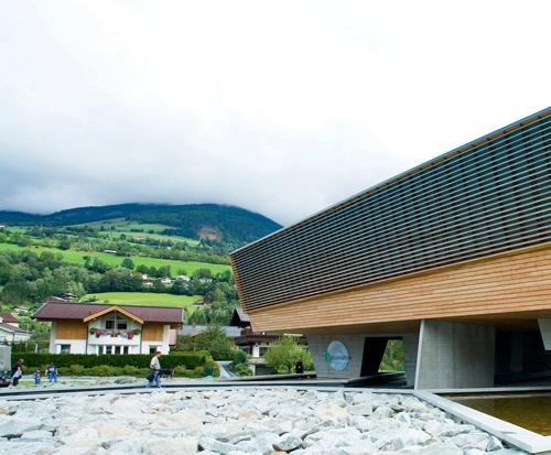 Das Nationalpark-Haus in Mittersill