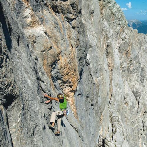 Schüsselkarspitze-Südwand – Wand der Wände im Wettersteingebirge! Fotos, wenn nicht weiter angegeben von Heiko Wilhelm