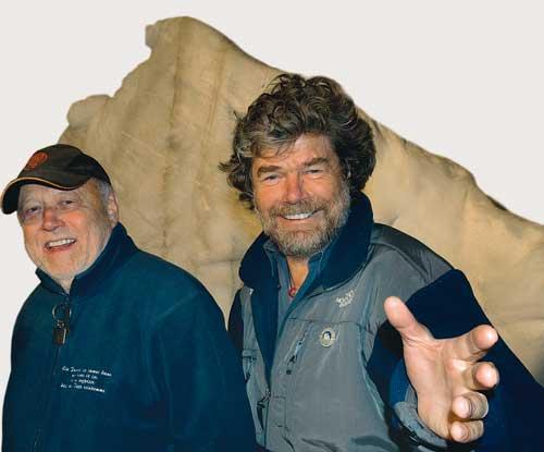Als Joseph Vilsmaier Reinhold Messner persönlich kennen gelernt hatte, fing er Feuer ander Idee zu »Nanga Parbat«