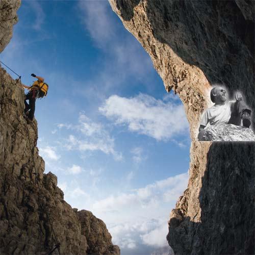 Die Via ferrata degli Alleghesi auf die Civetta zählt zu den ganz großen, klassischen Kletter-steigen in den Dolomiten