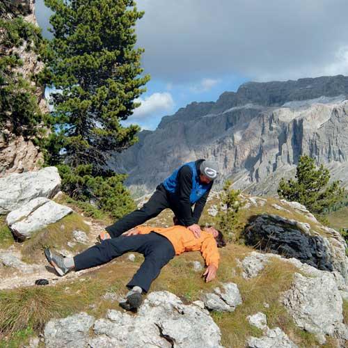 Was tun bei Unfällen im Gebirge? Fotos: Alexander Römer