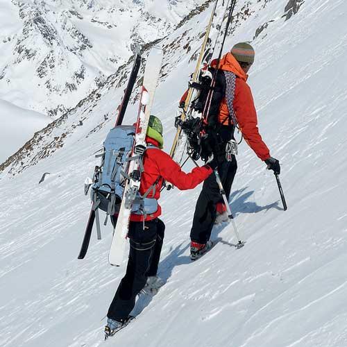 Gut vorbereitet auf Skitour