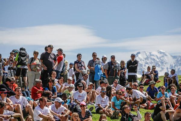 Aletsch-Halbmrathon Zuschauer