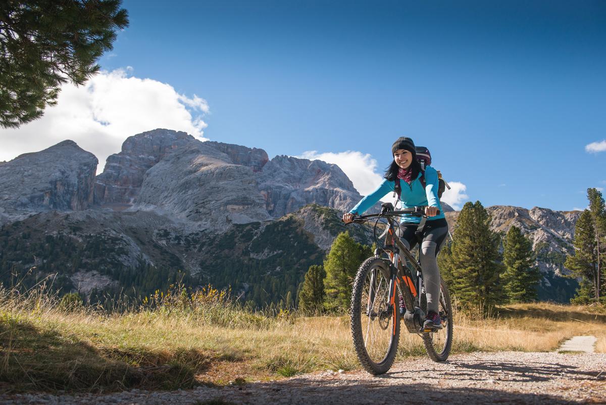 Fahrrad Berg