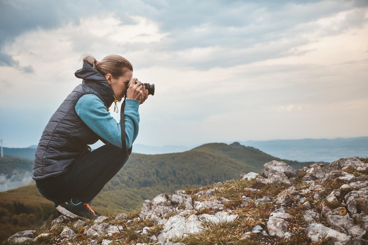 Bergfotografie Übung