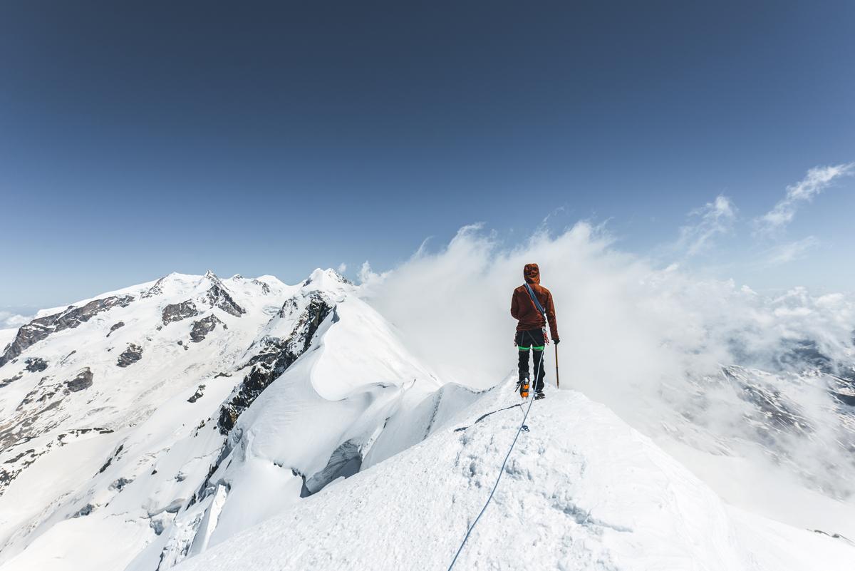 Breithorn Bergpanorama