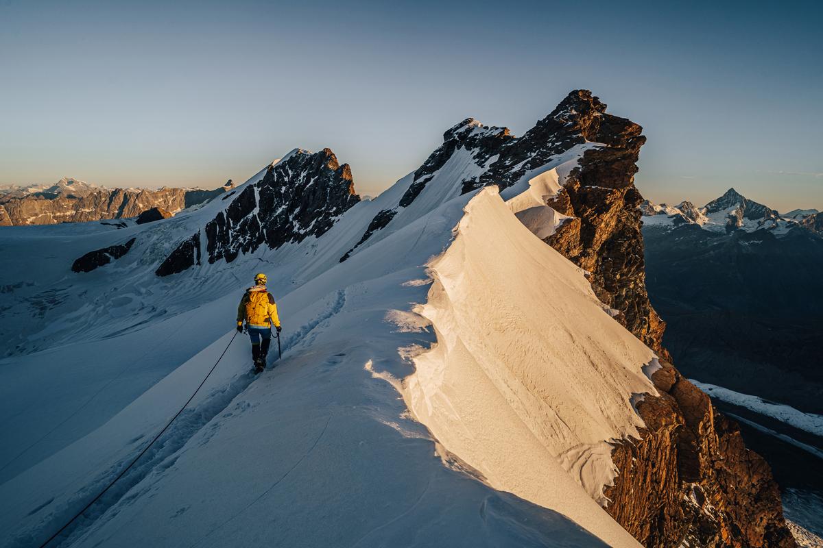 Breithorn Anstieg