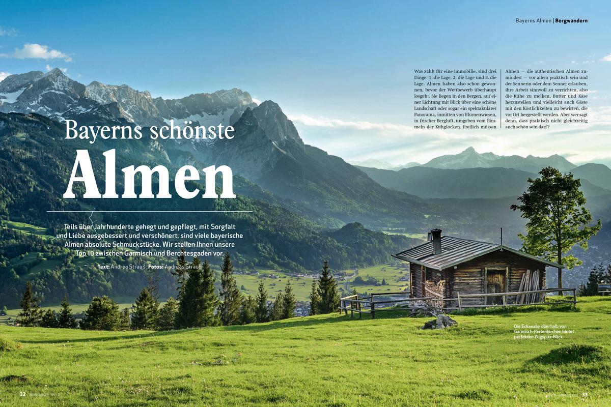 Bayerns schönste Almen