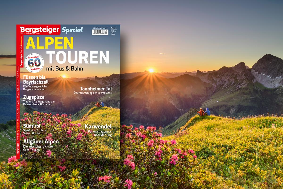 Alpentouren mit Bus und Bahn