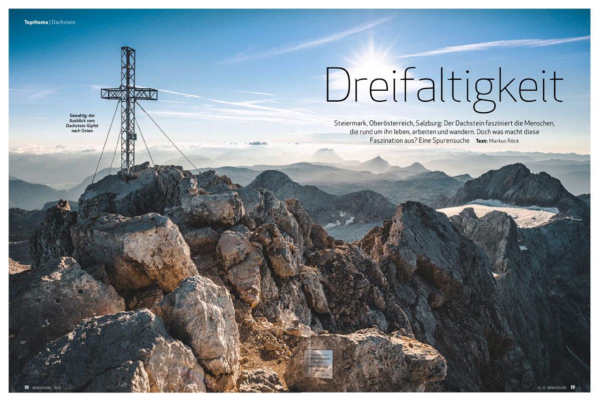 Dachstein-Gipfelpanorama