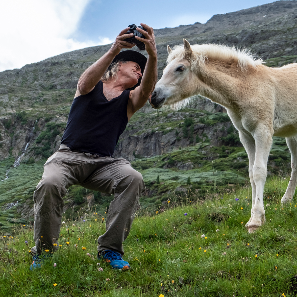 Selfie mit Heinz Zak