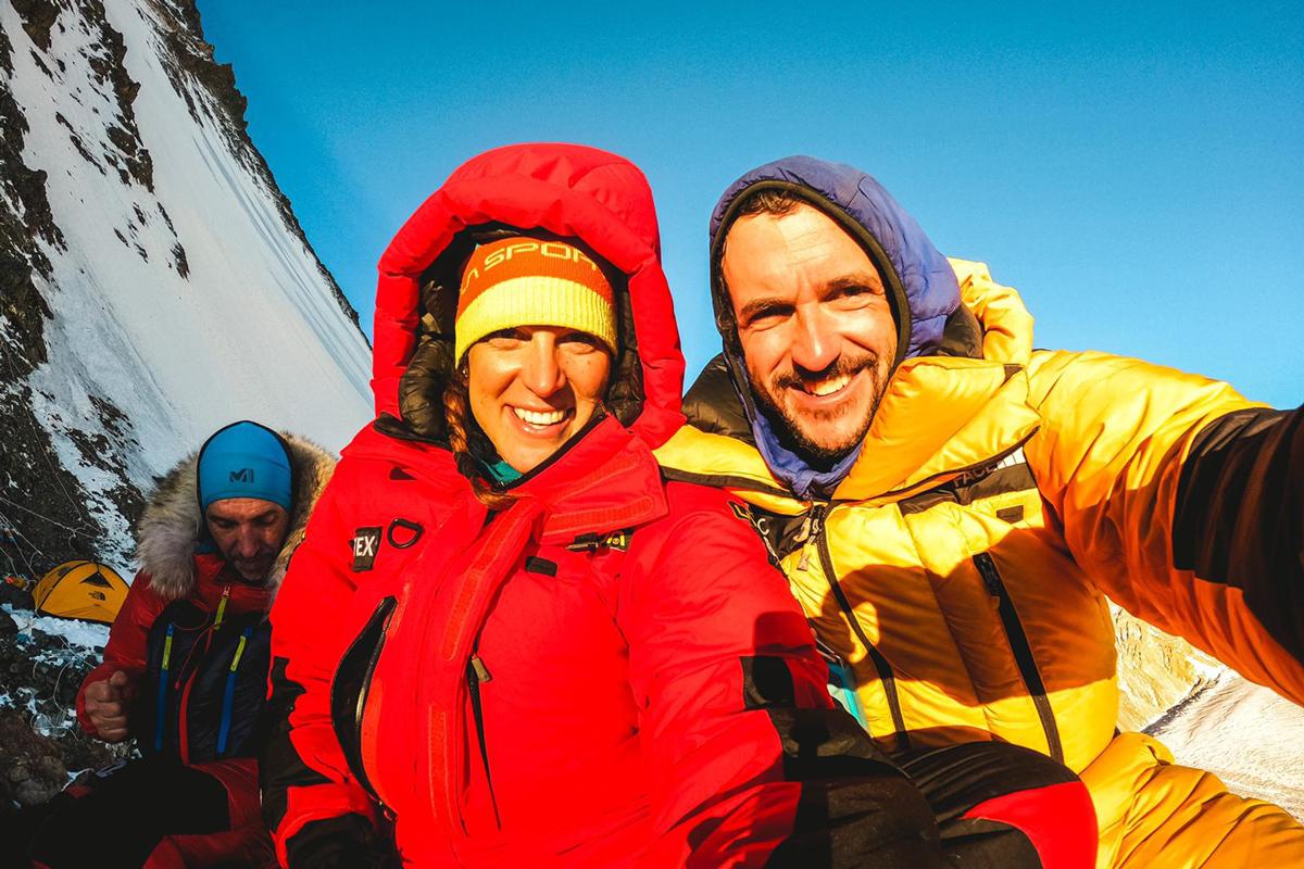Tamara Lunger und JP
