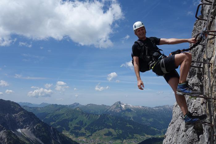 Mindelheimer Klettersteig Unfall : Allgäuer klettersteig duett bergsteiger magazin