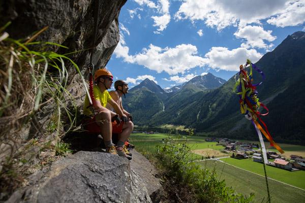 Klettersteige Ötztal
