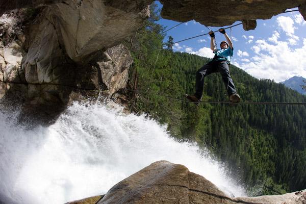 Klettersteig Oetztal : Klettersteige klettergarten im Ötztal in tirol hotel das